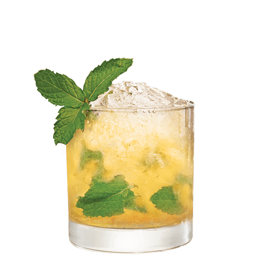 Jack Julep Cocktail served with mint
