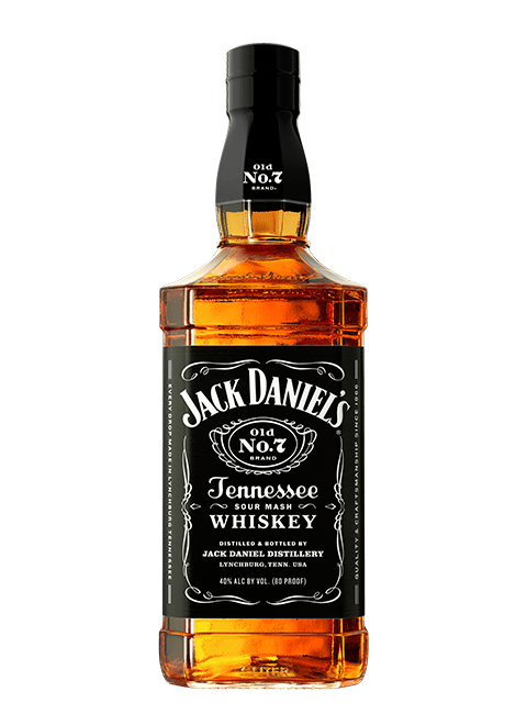 Jack Daniel's Old Number 7 Tennessee Whiskey 750ml Bottle