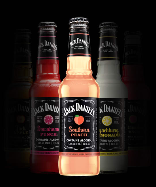 Jack Daniel's Country Cocktails 10oz Bottles