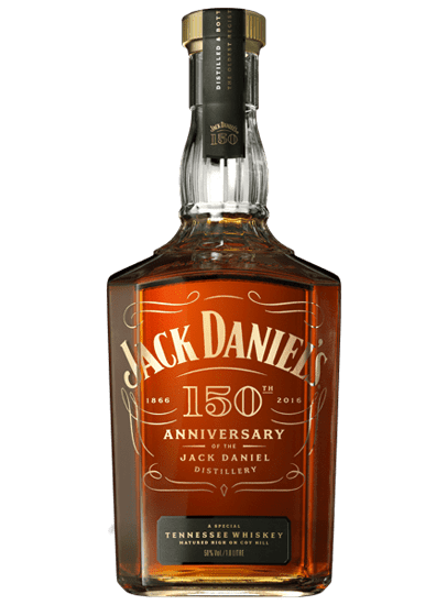 Jack Daniel's Jack Daniel Distillery 150th Anniversary Whiskey 1L Bottle