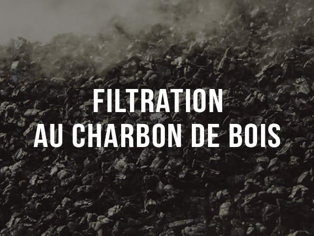 Filtration au charbon de bois