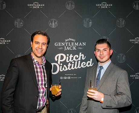 pitch distilled Detroit Partygoers​ ​showed​ ​off​ ​their​ ​custom​ ​cocktails​ ​and​ ​smiled​ ​for​ ​the​ ​camera.