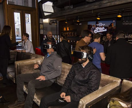 Pitch Distilled Denver Guests took a virtual tour of the Jack Daniel Distillery in Lynchburg, Tennessee.