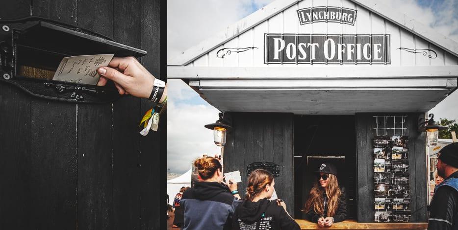 Post Office auf dem Hurricane