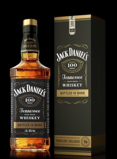 Jack Daniel's Bottled in Bond Tennessee Whiskey 750ml Bottle