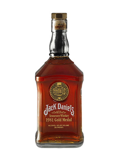 Jack Daniel's 1981 Gold Medal Series 750ml Bottle