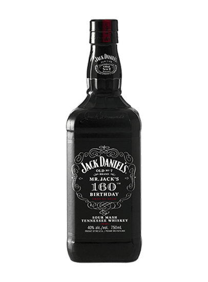 Jack Daniel's Mr. Jack's 160th Birthday 750ml Bottle