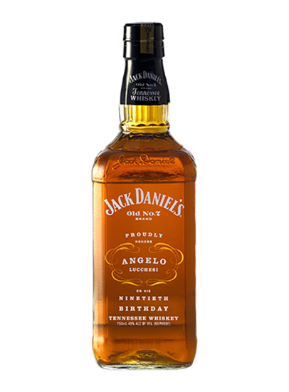 Jack Daniel's Angelo Lucchesi 90th Birthday 750ml Bottle
