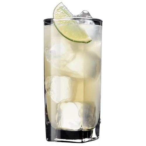 Tennessee Mule Cocktail served with lime wedge