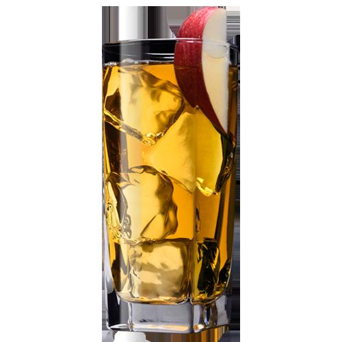 Apple Jack Cocktail served with Apple slice