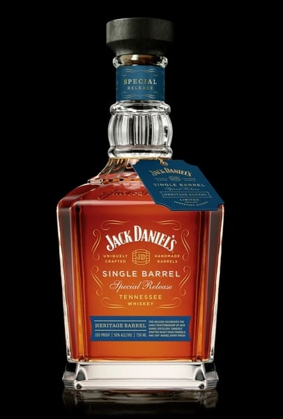 Jack Daniel's Single Barrel Heritage Barrel 750ml Bottle