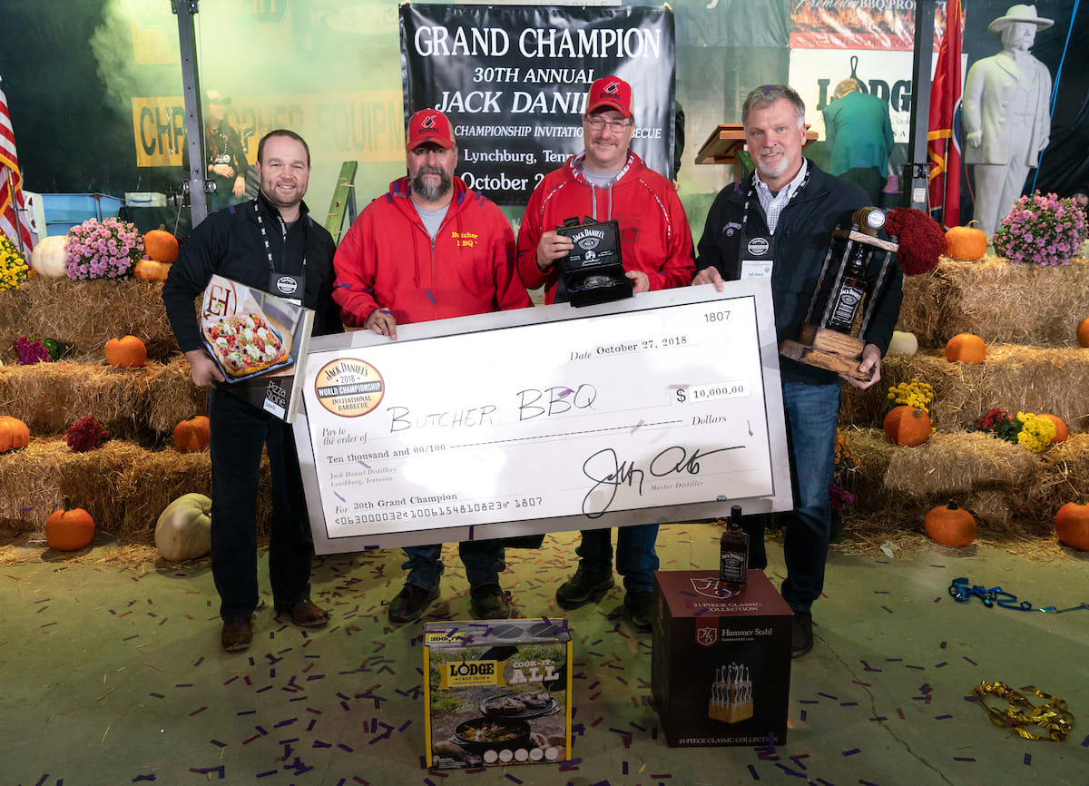 2018 BBQ Winners