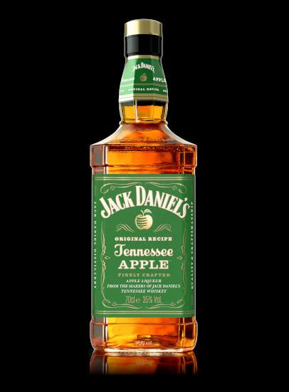 JACK DANIEL'S Tennessee Apple Flasche