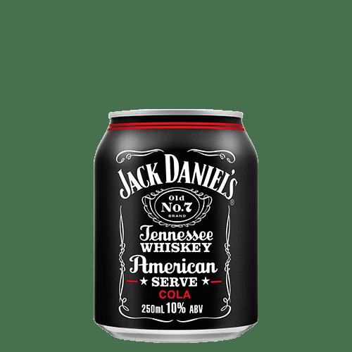 Jack Daniel's American Serve & Cola