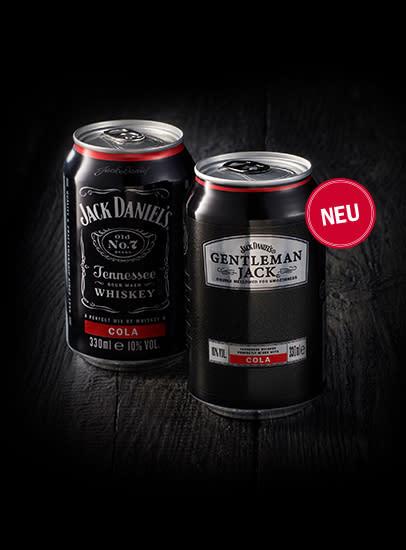 Jack Daniel's Premix Longdrinks