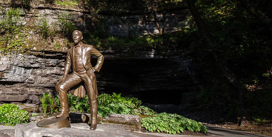 The Jack Daniel's Statue