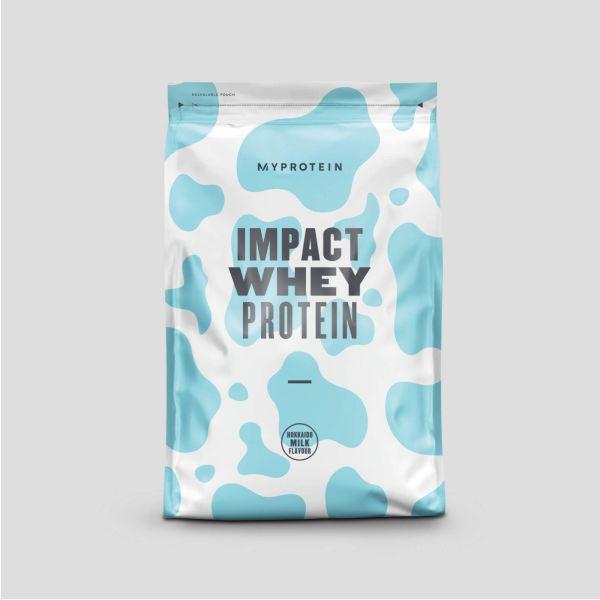 マイプロテイン Impact ホエイプロテイン 北海道ミルクの画像