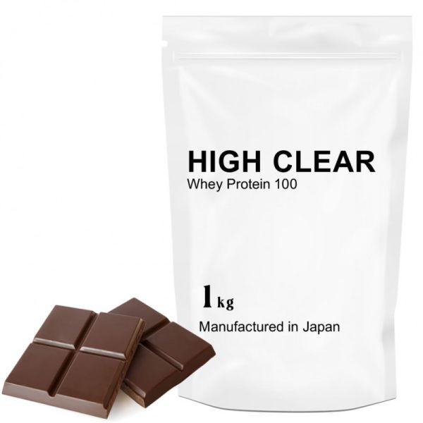 ハイクリアー WPCホエイプロテイン100 リッチチョコレート 1.0kgの画像