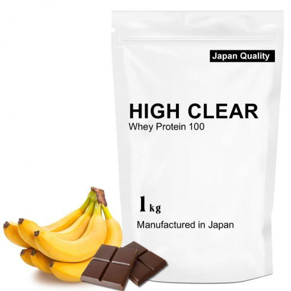 ハイクリアー WPCホエイプロテイン100 チョコバナナ 1.0kgの画像
