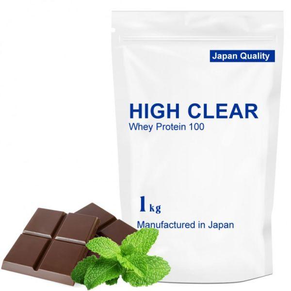 ハイクリアー WPCホエイプロテイン100 チョコミント 1.0kgの画像