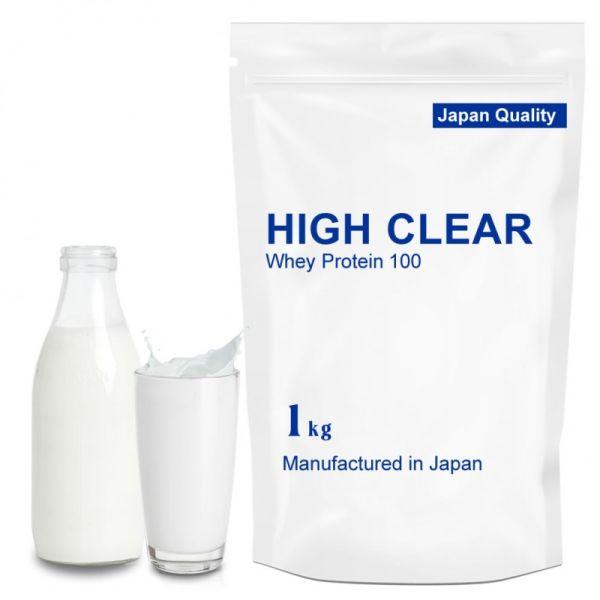ハイクリアー WPCホエイプロテイン100 あっさりミルク 1.0kgの画像