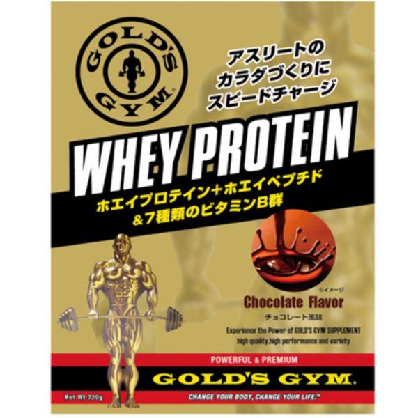 ゴールドジム ホエイプロテイン+ホエイペプチド&ビタミン チョコレートの画像
