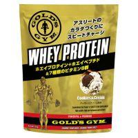 ゴールドジム ホエイプロテイン+ホエイペプチド&ビタミン クッキー&クリームの画像