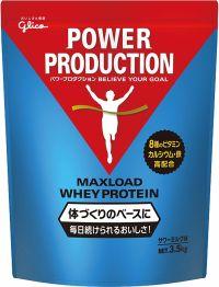 グリコ パワープロダクション マックスロードホエイプロテイン サワーミルク 3.5kgの画像