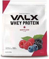 VALX ホエイプロテイン ベリーの画像