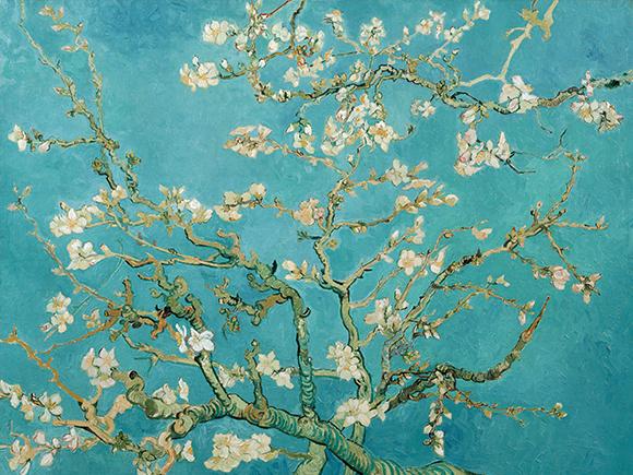 Vincent van Gogh, Amandelbloesem (detail), 1890, Van Gogh Museum, Amsterdam