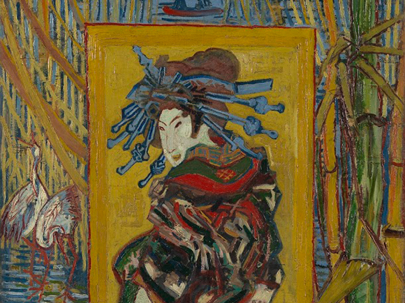 Vincent van Gogh, Courtisane (naar Eisen) (detail), 1887, Van Gogh Museum, Amsterdam