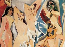Pablo Picasso, Les Démoiselles d'Avignon, 1907, Museum of Modern Art, New York_klein