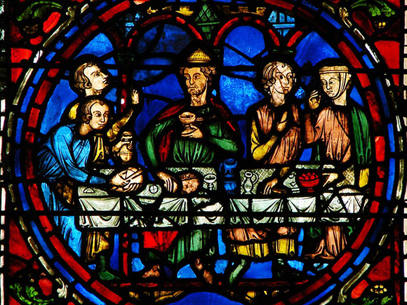 Glas-in-lood raam, Onze-Lieve-Vrouwekathedraal, ca. 1180-1225, Chartres_groot