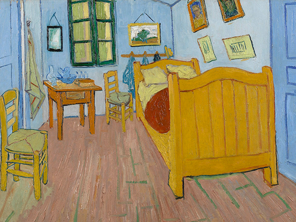 Vincent van Gogh, De slaapkamer, 1888, Van Gogh Museum, Amsterdam_groot