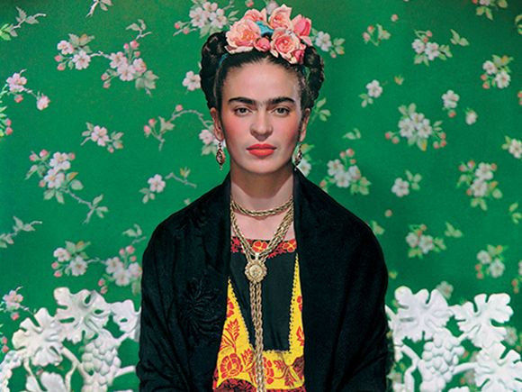 Frida on the bench, 1939, photograph by Nickolas Muray_groot