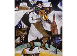 Marc Chagall, De violist, 1912-13. c/o Pictoright Amsterdam/Stedelijk Museum Amsterdam_klein