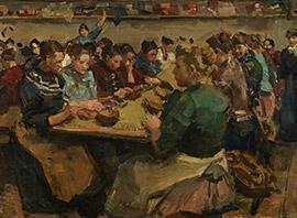 Isaac Israels, De koffiepiksters, ca. 1893, Kunstmuseum Den Haag