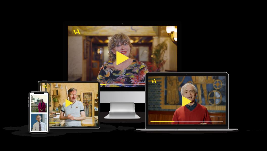 Video jumbotron header