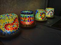 [玻璃] 環保玻璃馬賽克燈 手作課程