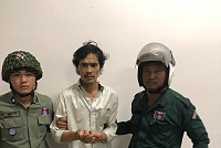 Detained a drug trafficker in Toul...