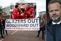 Man Utd fans continue anti-Glazer and...