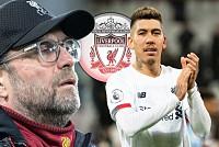 Liverpool boss Klopp handed Firmino...