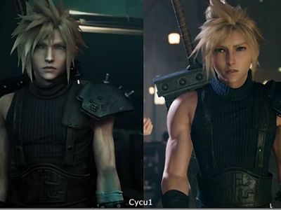 Final Fantasy 7 remake comparison vid...