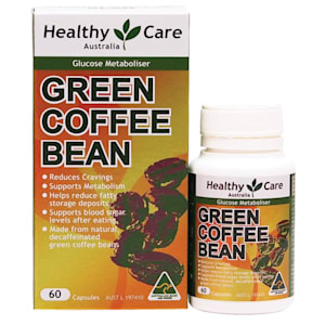 Healthy Care Green Coffee Bean Capsules 60 Capsules