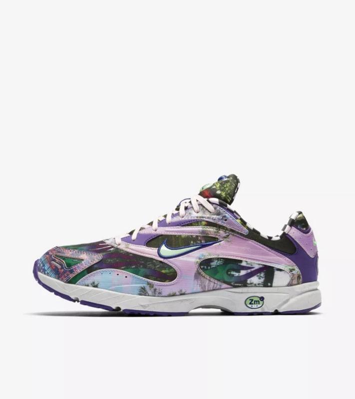 best website a53e2 3530f Nike Vaporwave Zoom Streak Spectrum Plus Men s Shoes, Purple Light Poison  Green, 6.5
