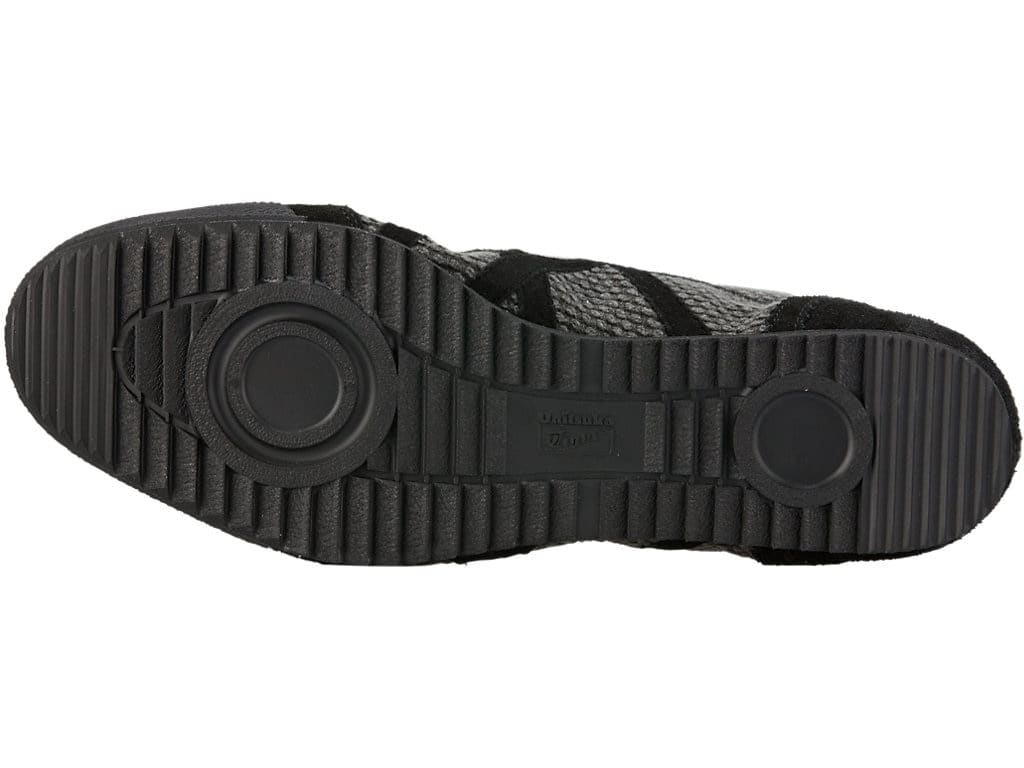 best sneakers 72959 2edb2 Onitsuka Tiger Mexico 66 Mid-Runner Deluxe Shoes, 25, Dark Grey x Black