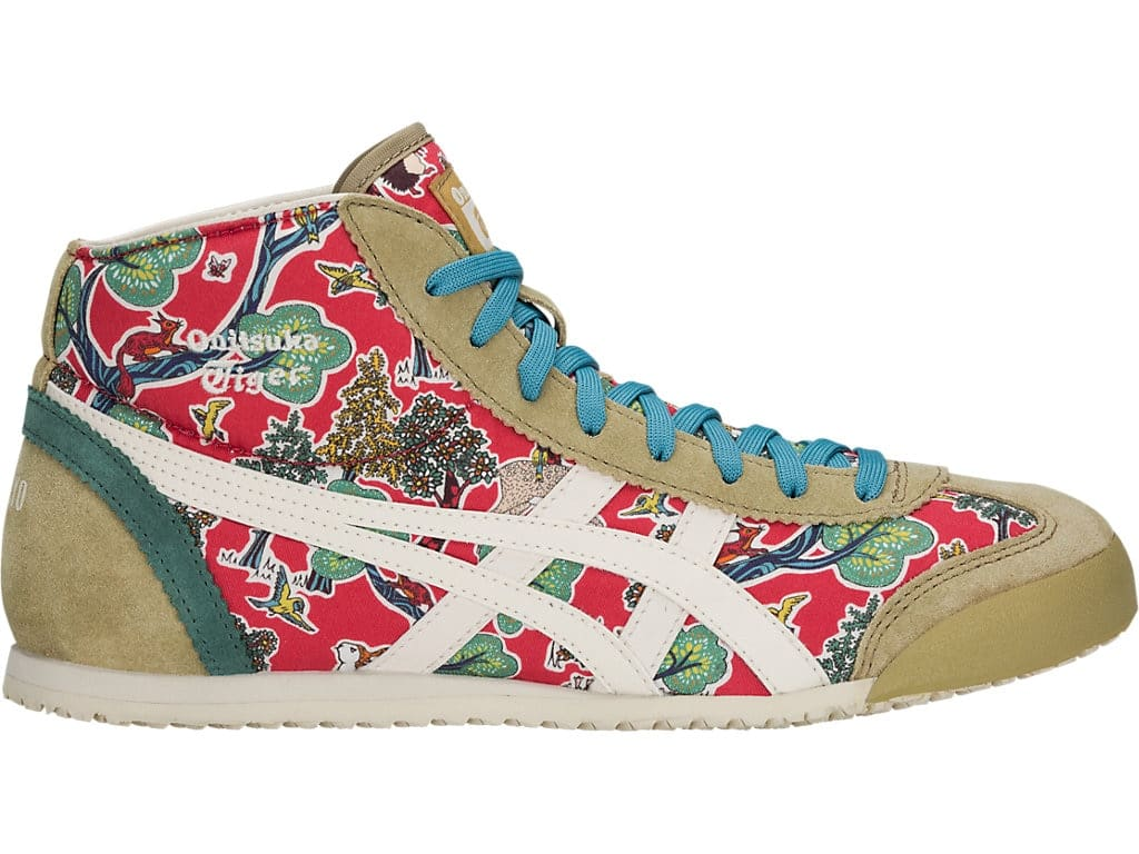 the latest 7a60d e1a49 Onitsuka Tiger Mid Runner Shoes, 24.5, Classic Red x Oatmeal