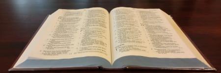 open bible image