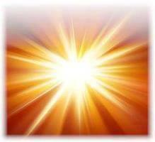 sunburst image