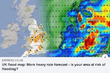 UK Rain Map